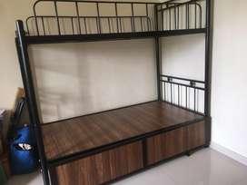 Bunk bed 3 sleeper with storage
