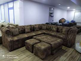 EMI 0% BAJAJ FINANCE Modern sofas 9 seater with table