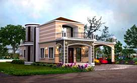 ON 27 LAKHS BUNGALOW + PLOT WITH SEMI - FURNISHED (ALL INCLUSIVE ).