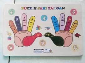 Puzzle kayu murah mainan edukasi