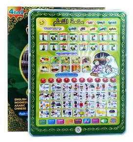 Mainan Edukatif Playpad Muslim 4 Bahasa Arab Inggris Indonesia