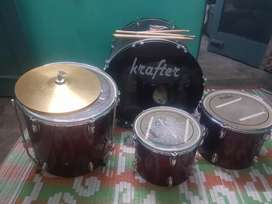 Krafter Drum kit good condition