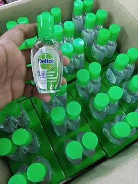 Dettol hand sanitizer available