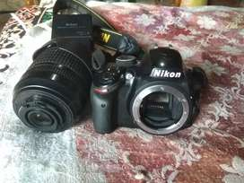 Nikon D 3200  camera with Bag ,memory card & Charger