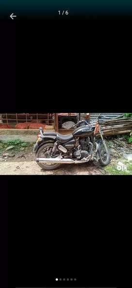 Full maintains bike