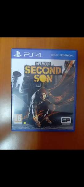 SECOND SON PS4 (EXCLUSIVE PACK)