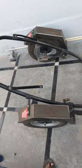 Side wheel for activa