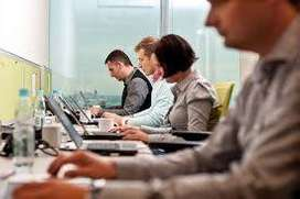 Urgently required office worker