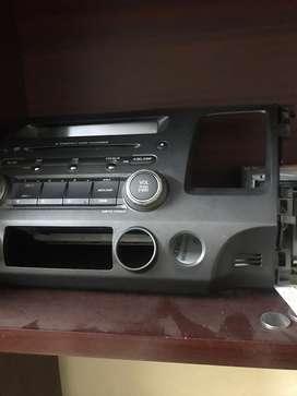 Honda civic stock stereo system