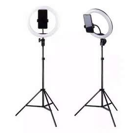 Ring Light 26cm + Light Stand Tripod 1.1M Selfie Vlogger Livestreamer