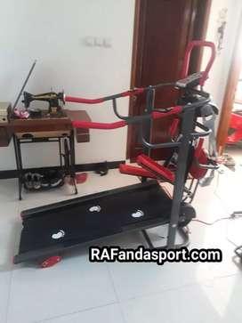 Treadmill Manual 6 Fungsi + Massager TL-004