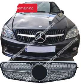 Mercedes Grill Front