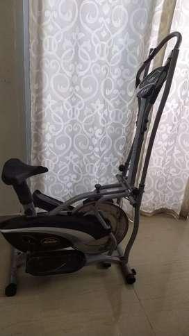 Exercise bike cum Cross Trainer