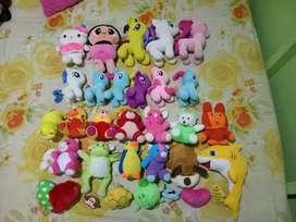 Boneka Bekas Dijual borongan Total 32 pcs
