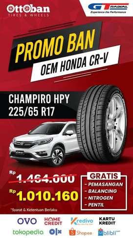 Promo Ban Gt Radial Champiro HPY OEM Honda CR-V 225 65 17