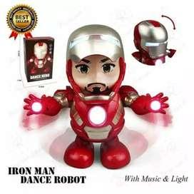 Robot Menari Hero Robot Dancing Ironman
