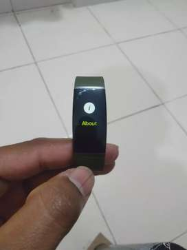 3 months old realme Smart band with bill available
