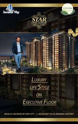 Top City-1 Star Twin Towers 1, 2 & 3 bed flat/apartment on easy instal