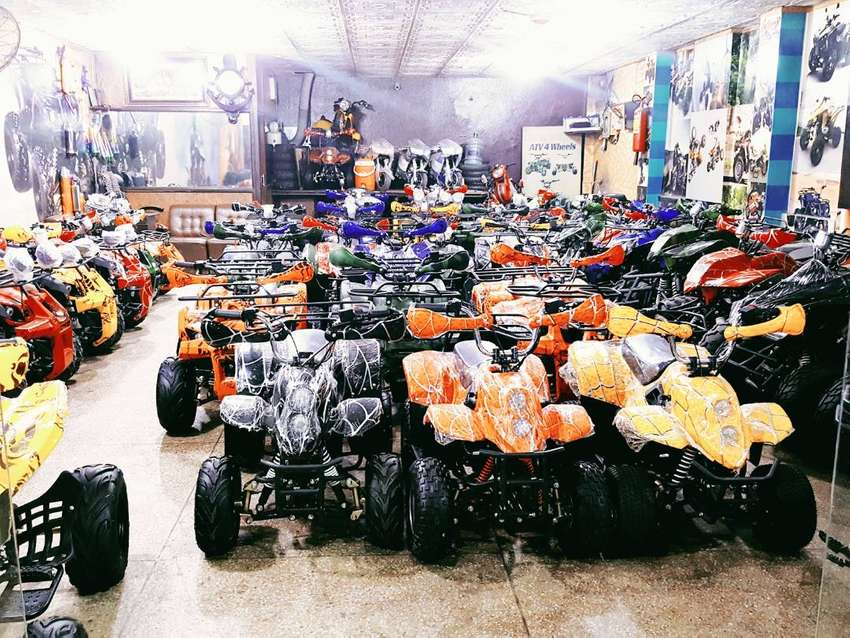 Small kids size 50cc 70cc 110cc atv quad 4wheels delivery all Pakistan 0