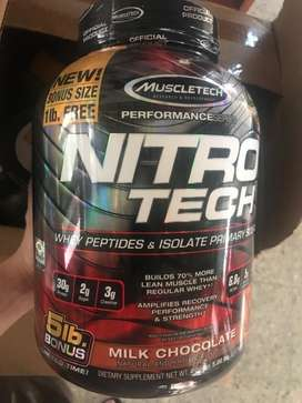 Nitrotech 5 Lbs Muscletech Performance Series BPOM Original Surabaya