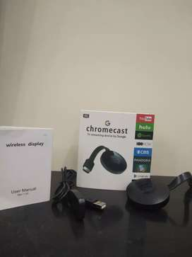 Chromecast 4K TV streaming for screen mirroring from android