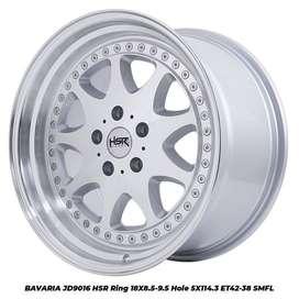 jual velg type hsr wheel BAVARIA JD9016 HSR R18X85-95 H5X114,3 ET42-38