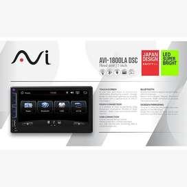 AVI Head Unit Universal Mirrorlink Android Capasitive Mobil FULL GLASS