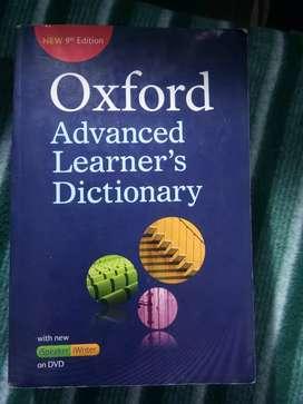 Oxford dictionary (English to England)
