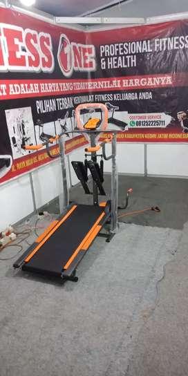 Alat treadmill 5 fungsi steper