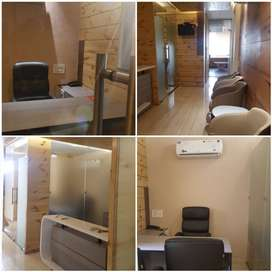 1300 sqft fully furnished office space available for lease/Rent