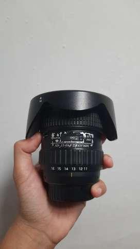 Lensa wide nikon tokina 11-16