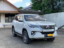 Toyota Fortuner G Manual Diesel solar 2019 Km 25rb like New jarang ada