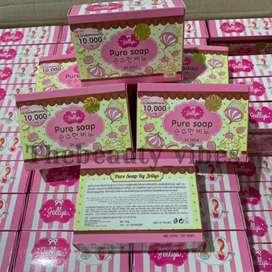 Jelly pure soap original / sabun jelly pemutih badan terlaris