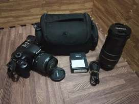 Kamera Canon Eos 550D dual kamera super oke bos..