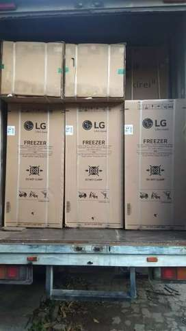 FREZER lemari pembeku LG kapasitas 6 rak