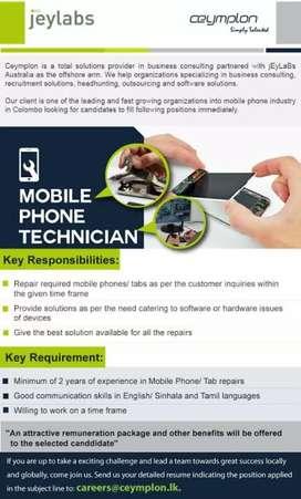 Mobile phone Repairing.