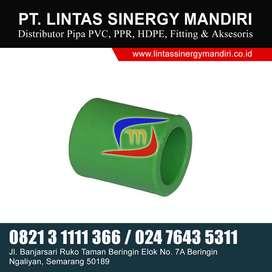 FITTING/SAMBUNGAN PIPA PPR CUP/DOP UKURAN LENGKAP