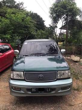 Toyota Kijang Krista (bensin) M/T 2000/2001, Mobil Antik terawat