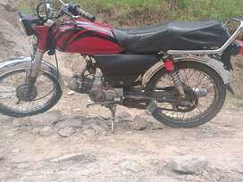 Honda bike for sale only 18000 .All decoments oka hn