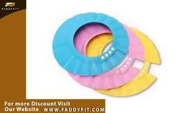 Adjustable Baby Shampoo Bath Shower Cap With Ear Protection Waterproof
