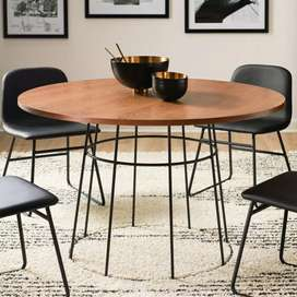 Set meja kursi- meja bulat- meja makan- meja kursi kedai