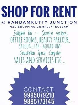 Shop for rent at Randamkutty junction