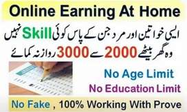 Online jobs for the students