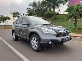 Honda CRV 2.4 Tahun 2008 grey mobil bagus