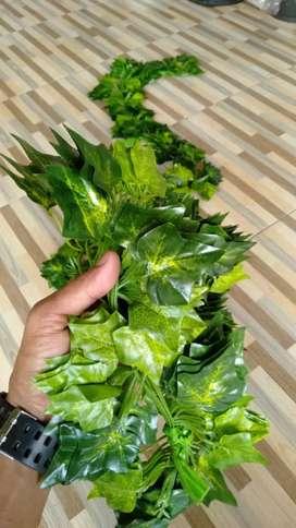 Daun Rambat Plastik Hiasan Dinding Artificial Fake Leaf Hias Taman
