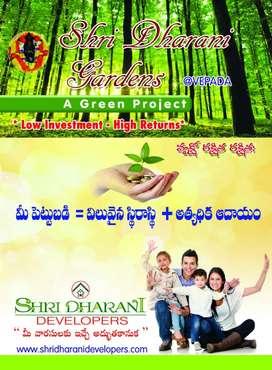 @3500 PER SQYRD Shri Dharani Gardens Farm Land Venture