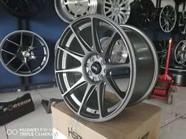 velg racing mobil city ring 17x75-9 pcd 8x100-114 HSR shinjuku