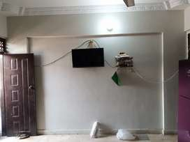 New Flat VIP condition new building only 3 year old corner building