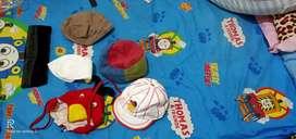 Paketan topi anak cowok usia 2 SD 5 tahun