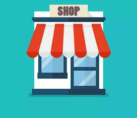 100 sq feet shop is available for new business
